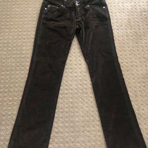 Miss Me size 30 crushed velvet pants.